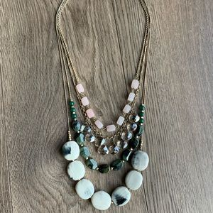 NWOT Anthropologie Statement Necklace